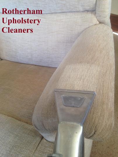 upholstery cleaners Rotherham